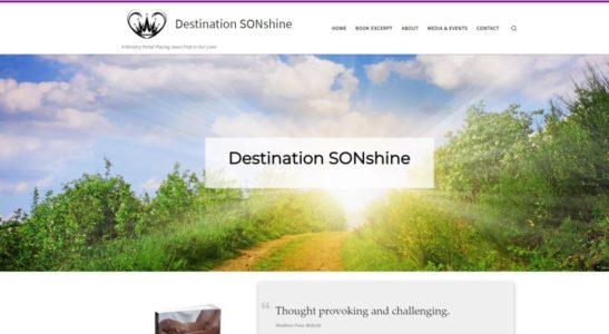 Website for Destination SONshine