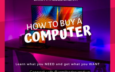 How to Buy A Computer