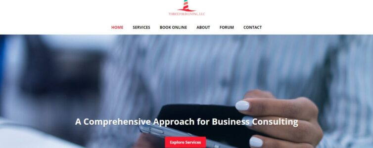 Website for Threefold Living, LLC - Financial Professionals
