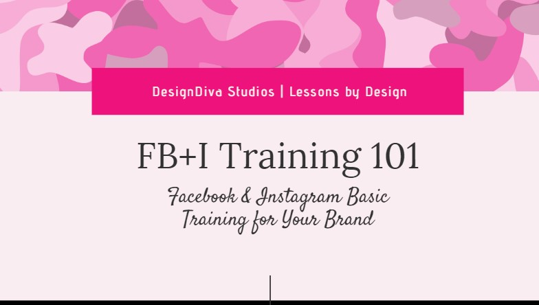 Facebook and Instagram Basic Training Course Image