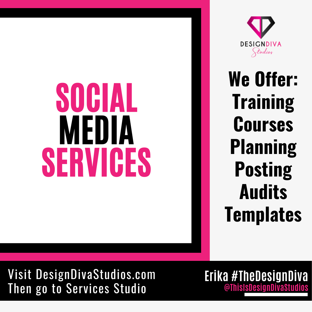 Our social media Plans and Packages can help you as much or as little as you want to help you from where you are right now. Full-service and DIY options are available. Our classes also provide opportunities to learn on the subject. Click below for details & pricing.