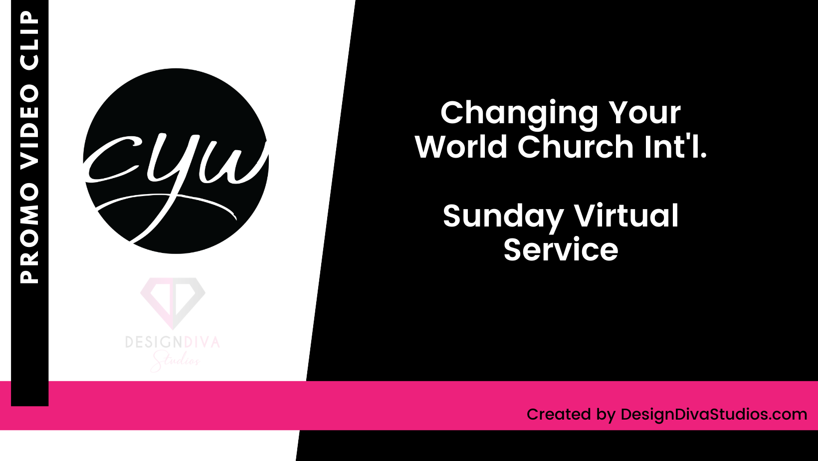 Promo Video Clip Cover - Changing Your World Virtual Service
